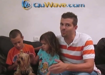 Kids Dog QuWave Pet Harmonizer Testimonial