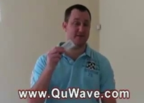 QuWave Harmonizer EMF pollution protection testimonial