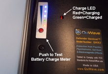 Internal Charge LED and Battery Meter