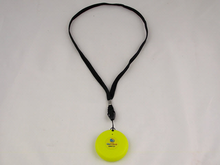 Pendant comes with a neckstrap lanyard