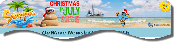 QuWave 2016 July Newsletter