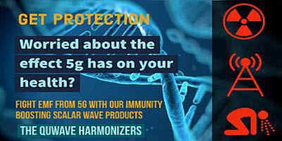 5G Dangers health improved with Quwave Harmonizers