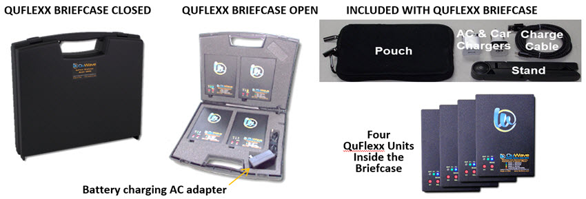 Briefcase Package contents