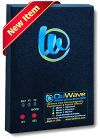 QuWave Defender protection for electronic, psychic