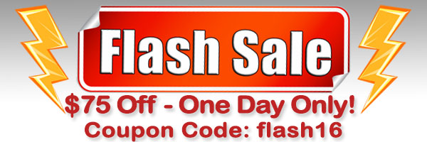 $75 ONE DAY FLASH SUPER SALE!!!