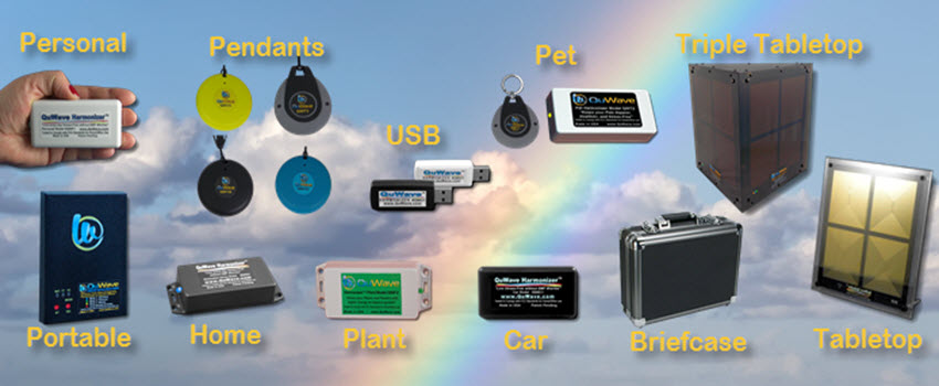 Overview of QuWave EMF protection devices