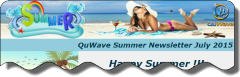 QuWave Sumer July Newsletter