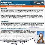 QuWave Monthly Newsletter June 2012 Issue