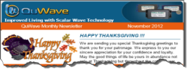 QuWave November Newsletter