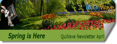 QuWave April 2015 Spring Newsletter