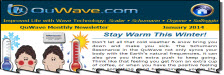 QuWave Newsletter January 2014