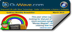 QuWave Newsletter March 2014 Money Magnet