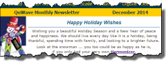 QuWave Newsletter December 2014