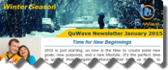 QuWave Winter Newsletter January 2015