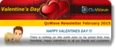 QuWave Valentine's Newsletter February 2015