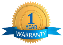 All QuWave products carry a one year warranty.