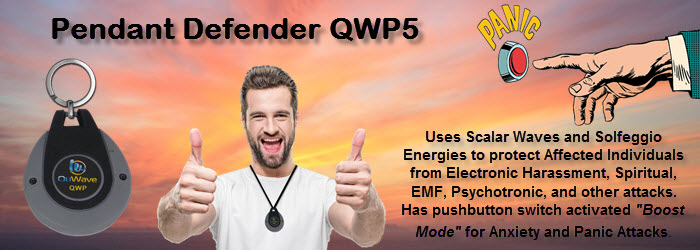 Pendant Defender QWP5 helps targeted individuals