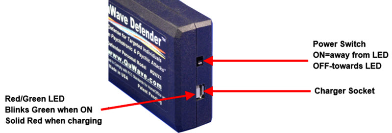 Switch and Socket of Personal Defender