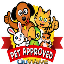 QuWave Pet Harmonizer for Happer, Healthier Pets. Pet EMF Protection