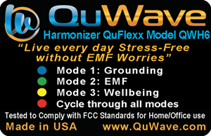 QuFlexx Portable Harmonizer for superior protection