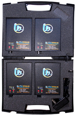 QuFlexx Briefcase has 4 units for quadruple the power