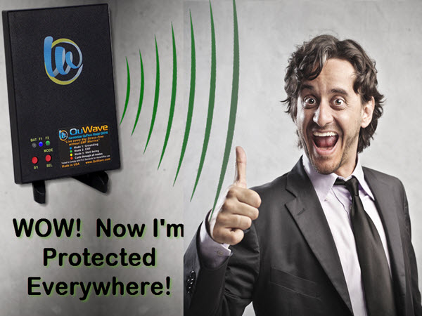 QuFlexx Defender protects you everywhere