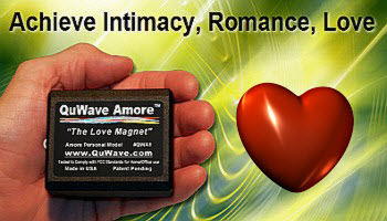 QuWave Amore helps achieve Intimacy, Romance, Love