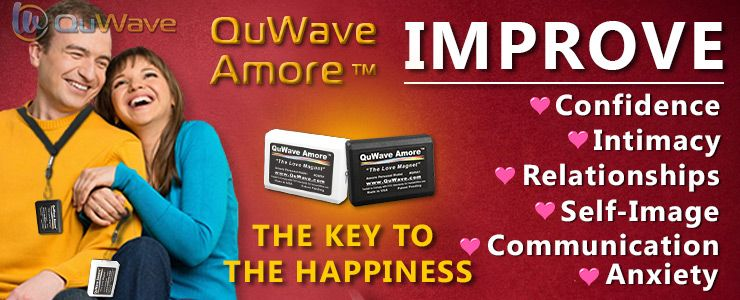 "QuWave Amore ""Love Magnet"" to Achieve Deeper Love, More Romance and Intimancy"