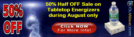 August Summer Sale 50% OFF on Energizer