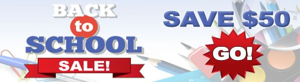 Back to School Sale !!!!