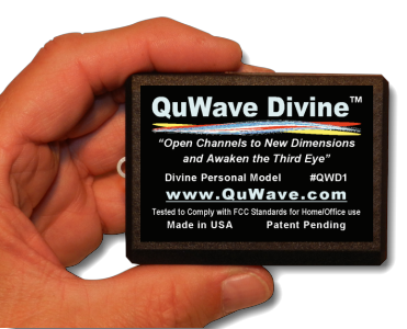 QuWave Divine your gateway to the universe