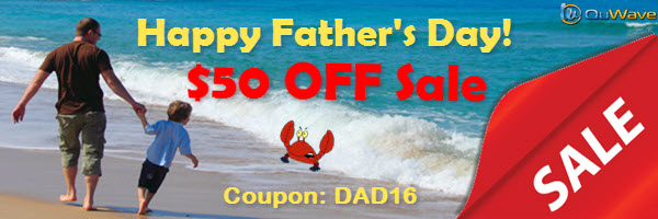 Father's Day SALE $50 off on any purchase