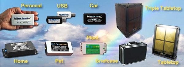 QuWave Harmonizer EMF Protection Shield Products