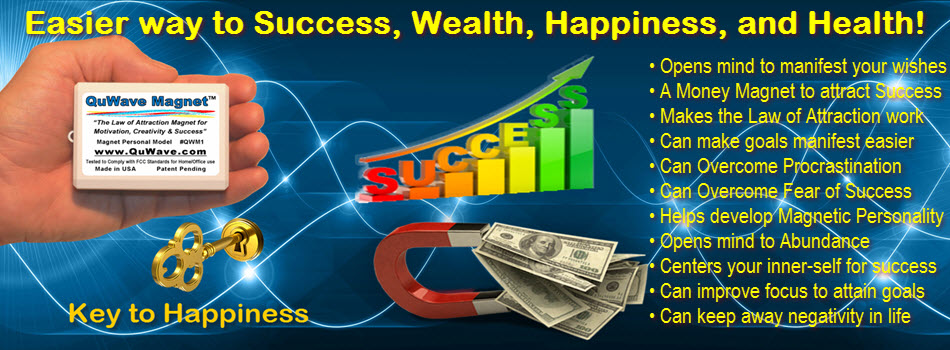 QuWave Money Magnet helps you achieve abundant success