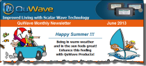 QuWave June 2013 Newsletter
