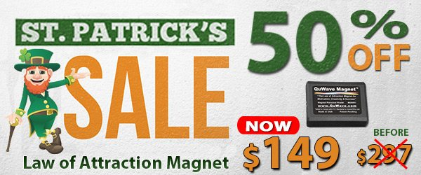 QuWave 2015 St Patrick's Day Sale