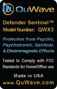 Psychic Protection with QuWave Sentinel Defender Model QWX3