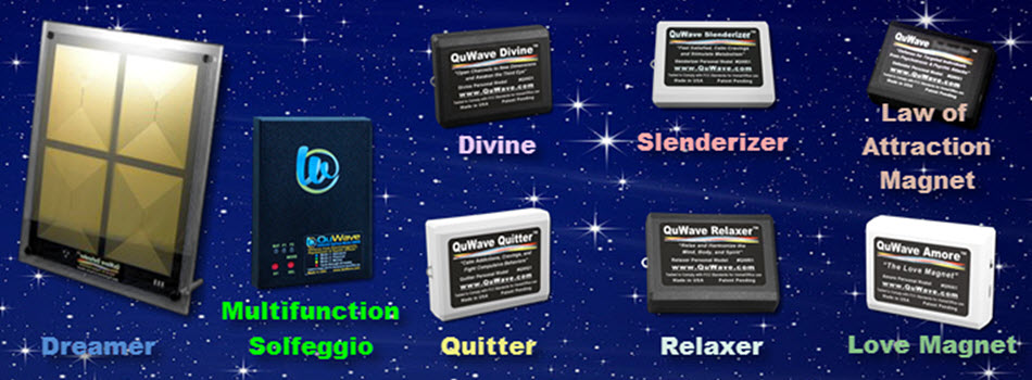 QuWave Solfeggio Products to improve your life!!!