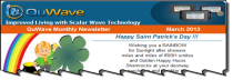 QuWave March 2013 Newsletter