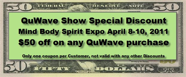 QuWave Show discount Coupon $50 off any purchase