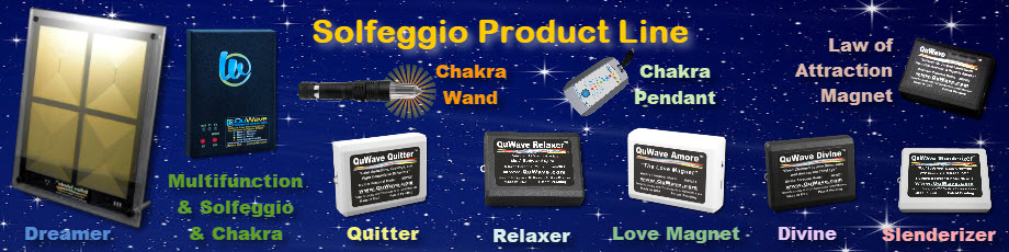 We have many Solfeggio Products