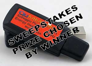 Sweepstakes Prize Chosen by Winner