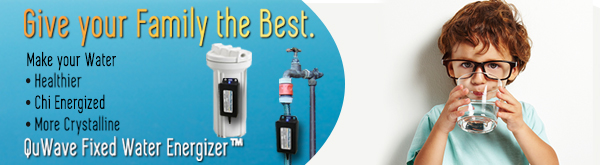 Improve Health with Energized Water from QuWave