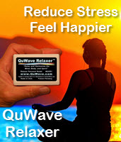 QuWave Relaxer reduces stress to make you feel better